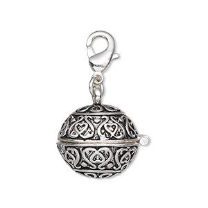 Prayer box pendants and rings fire mountain gems and beads 1 pendant pkg aloadofball Gallery