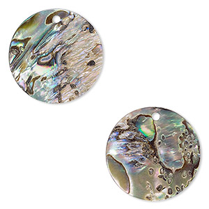 40//75 Pcs Natural Freshwater Shell Bead Jewelry Making Charm DIY Findings