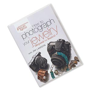 dvd, how to photograph your jewelry: beyond the basics instructional video with jim lawson. sold individually.