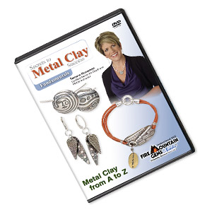 dvd, secrets to metal clay success - fundamentals instructional video with tammy honaman. sold individually.
