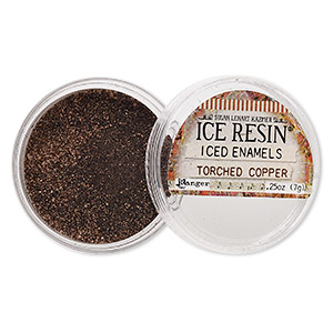 enamel powder, ice resin, iced enamels, torched copper. sold per 0.25-ounce jar.