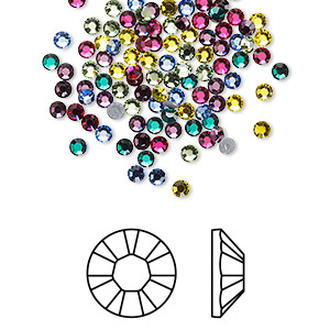 80a37430ebe3cd Swarovski crystals in Themed Assorted Color Packs - Fire Mountain ...
