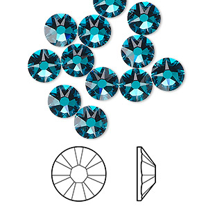 Swarovski Blue Zircon Color - Fire Mountain Gems and Beads 3d042f73a2