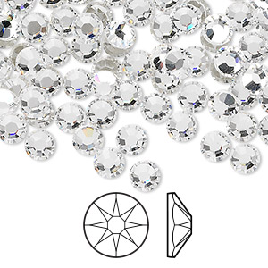 8b9ec0066 Swarovski Crystal Flat-Back - Fire Mountain Gems and Beads