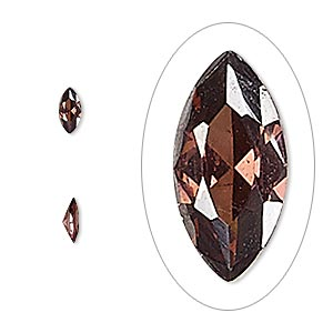 gem, cubic zirconia, alexandrite purple, 6x3mm faceted marquise, mohs hardness 8-1/2. sold per pkg of 5.
