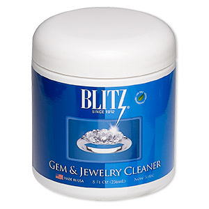 jewelry cleaner, blitz gem  jewelry cleaner. sold per 8-ounce jar.