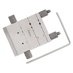 miter cutting jig, steel, 3x2-3/4 inch rectangle with 3x2-1/4 inch cutter guide rod. sold individually.