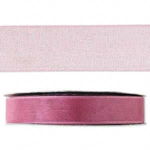 organza ribbon, nylon, rose, 1/2 inch. sold per 33-yard spool.