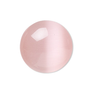 Cabochons Cat's Eye Glass Pinks
