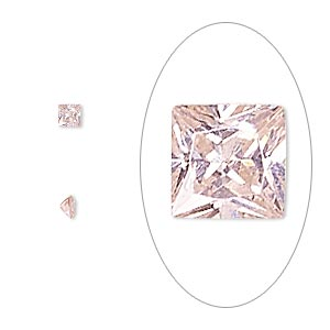 Faceted Gems Cubic Zirconia Pinks