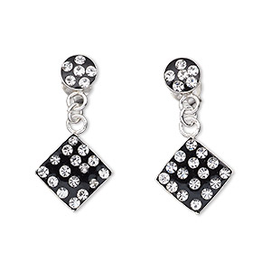 Earstud Earrings Blacks Everyday Jewelry