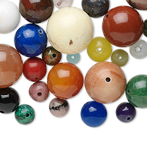 Beads Grade B Mixed Gemstones