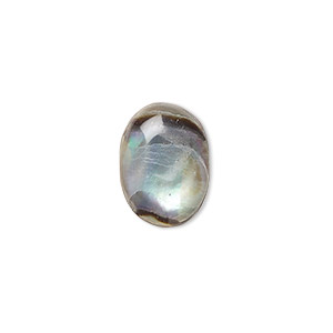 Cabochons Abalone Multi-colored