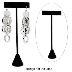 Earring Displays Velvet Blacks