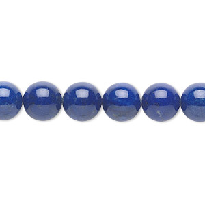 Beads Grade A Deep Blue Lapis