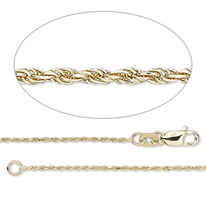 Chain Necklaces Karat Gold Gold Colored