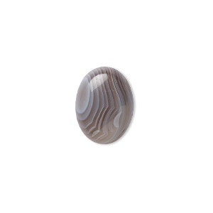 Cabochon, Botswana Agate (natural), 16x12mm Calibrated Oval, B Grade, Mohs Hardness 6-1/2 7. Sold Individually