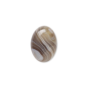 Cabochon, Botswana Agate (natural), 18x13mm Calibrated Oval, B Grade, Mohs Hardness 6-1/2 7. Sold Individually