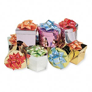 Gift and Presentation Boxes Paper Mixed Colors