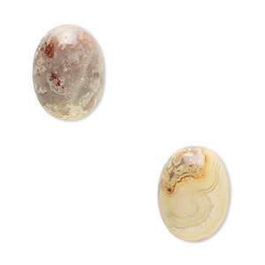 Cabochons Grade B Crazy Lace Agate