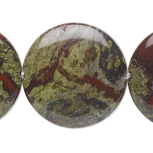 Beads Grade B Dragon Blood Jasper
