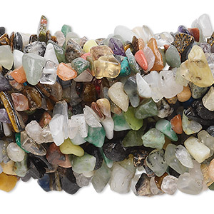 Beads Mixed Gemstones Multi-colored