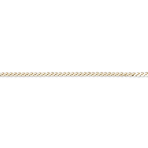 Unfinished Chain Karat Gold Gold Colored
