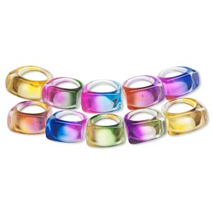 Finger Rings Multi-colored Just for Fun