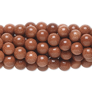 Beads Goldstone Browns / Tans