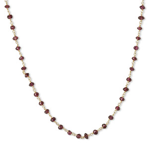 Other Necklace Styles Garnet Reds