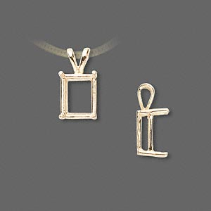 Pendant Settings Karat Gold Gold Colored