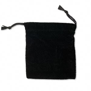 Pouches Velvet Blacks
