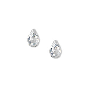 Beads Cubic Zirconia Clear