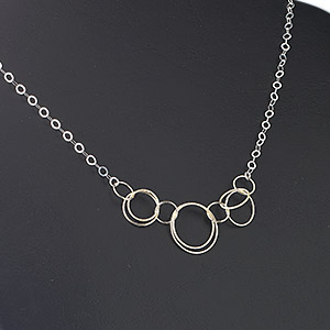 Other Necklace Styles Sterling Silver Silver Colored