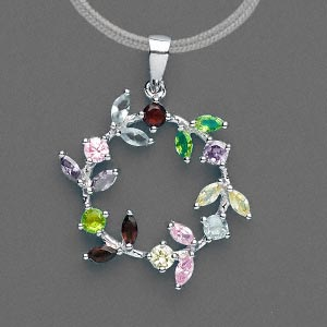 Pendants Sterling Silver Silver Colored