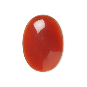 Cabochons Grade B Red Agate