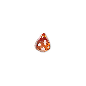 Beads Cubic Zirconia Oranges / Peaches