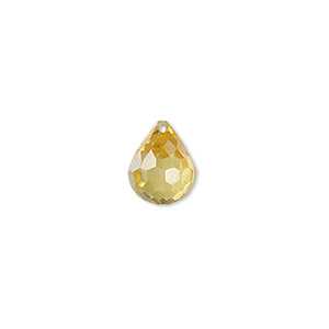 Beads Cubic Zirconia Yellows