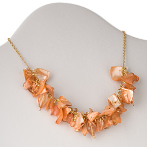 Other Necklace Styles Oranges / Peaches Everyday Jewelry