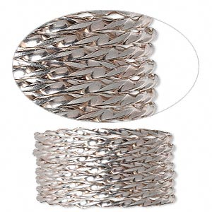 Wire-Wrapping Wire Sterling Silver Silver Colored