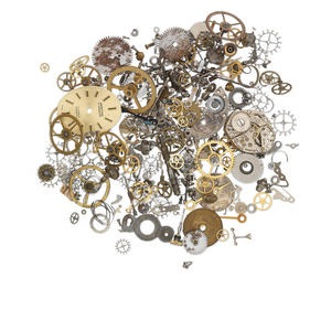 Watch Components Mixed Metals Mixed Colors