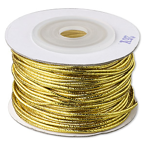 Cord Gold Colored 1.0mm