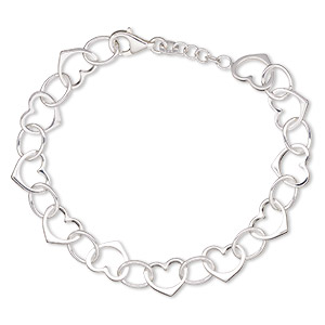 Other Bracelet Styles Sterling Silver Silver Colored