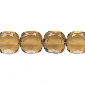 Beads Grade B Golden Quartz