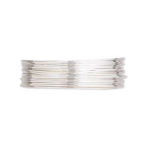 Wire-Wrapping Wire Argentium Silver Silver Colored
