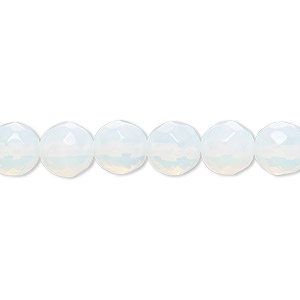 Beads Glass Whites