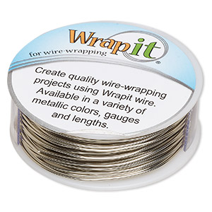 Wire-Wrapping Wire Nickel Silver Silver Colored
