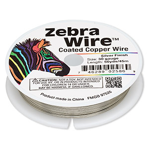 Wire-Wrapping Wire Copper Silver Colored