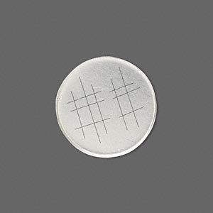 Bezel Cup, Sterling Silver, Solid Back, 20mm Unpolished Round. Sold Per Pkg 2