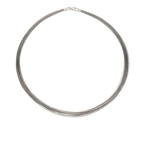 Necklace Bases Silver Colored H20-1470JE